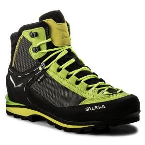 43ea2a70a4995 Trekingová obuv SALEWA Crow Gtx GORE-TEX 61328-5320 Cactus/Sulphur Spring