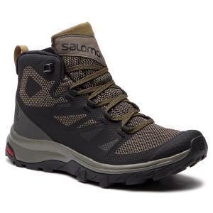 Trekingová obuv SALOMON - Outline Mid Gtx GORE-TEX 404763 27 V0 Black Beluga 36ff0fbef3c