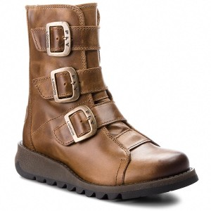 Kotníková obuv s elastickým prvkom FLY LONDON - Allsfly P144076000 ... 12dcb0bb298