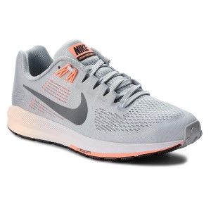 70d476fb2e62 Topánky NIKE - Air Zoom Structure 21 904701 008 Wolf Grey Dark Grey
