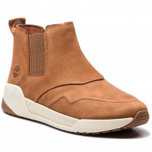 1abfa384262d Kotníková obuv s elastickým prvkom TIMBERLAND - Kiri Up Chelsea  TB0A1SX9F131 Saddle