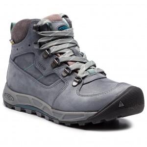 Trekingová obuv KEEN - Westward Mid Leather Wp 1020157 Turbulence Stormy  Weather 8add65b9225
