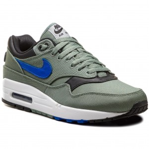 buy online 8e2a5 d4bc7 Topánky NIKE - Air Max 1 Premium 875844 300 Clay Green Hyper Royal White