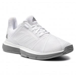 Topánky adidas - CourtJam Bounce W CG6354 Ftwwht Ftwwht Lgrani d7351076398