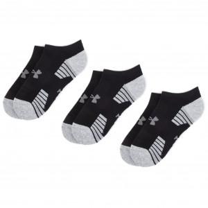 Súprava 3 párov kotníkových ponožiek pánských UNDER ARMOUR - Heatgear Tech  Locut Socks 3Pk 1312439- 1b0ace7b7e9