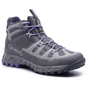 fc8f7680300 Trekingová obuv AKU - Selvatica Mid Gtx Ws GORE-TEX 676 Grey/Lilac 180