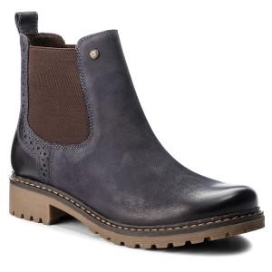 Kotníková obuv s elastickým prvkom LASOCKI WI23-ZULA-04 Tmavo modrá 0961729618d