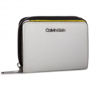 Malá Dámska Peňaženka CALVIN KLEIN - Avant Medium Zip Wflap K60K605097 107 4104eb6566a