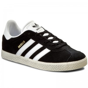 Topánky adidas Gazelle J BB2502 Cblack Ftwwht Goldmt 75ebea37f6
