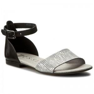 Sandále NESSI - 49204 Czarny 11 Stampa f4ec53695a