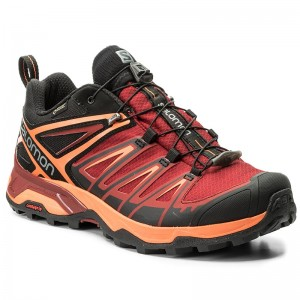 17328247a58f6 Trekingová obuv SALOMON - X Ultra 3 Gtx GORE-TEX 398670 Black/Red Dalhia
