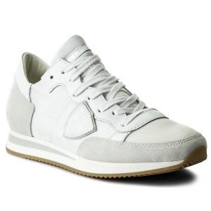 Sneakersy PHILIPPE MODEL - Tropez TRLD 1101 Basic Blanc Bla 126b92ac481