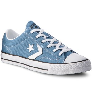 888e6f9010a0 Tramky CONVERSE Star Player Ox 160556C Aegean Storm White Black