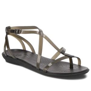 Žabky CROCS - Isabella Gladiator Sandal W 204914 Black Black b851a7321e