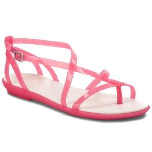 Žabky CROCS - Isabella Gladiator Sandal W 204914 Paradise Pink Oyster 9eb3343fce
