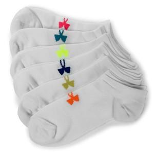 Súprava 6 párov kotníkových ponožiek dámskych UNDER ARMOUR - Solid 6 Pks No  Show 1312701- 6551bc52b89