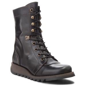 Negro Hacefly P144314005 Black Botas FLY LONDON Zapatos