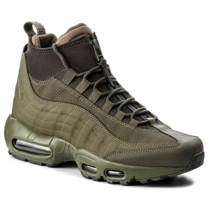 Topánky NIKE - Air Max 95 Sneakerboot 806809 202 Olive Moyen/Olive Moyen