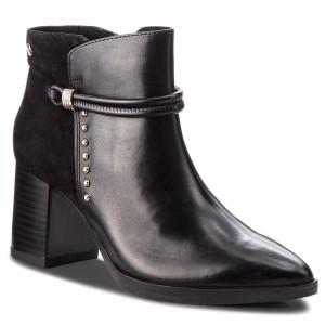 750a6b9d82155 Členková obuv CAPRICE - 9-25308-21 Black Comb 019