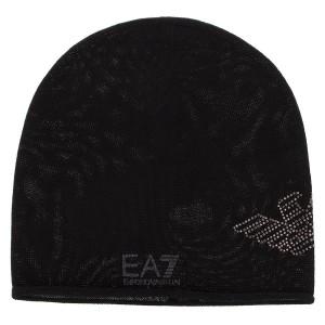 Czapka EA7 EMPORIO ARMANI - 285547 8A731 39220 Jet Black 268e9b788ed