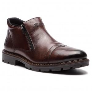 Outdoorová obuv RIEKER - 12194-25 Braun 857b0af345