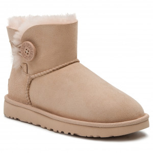 5838d7f48a66 Topánky UGG - W Mini Bailey Button II 1016422 W Amb