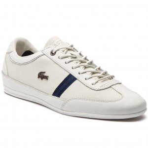Sneakersy LACOSTE - Misano 318 1 Cam 7-36CAM0056WN1 Off Wht Nvy 98dcc07aec