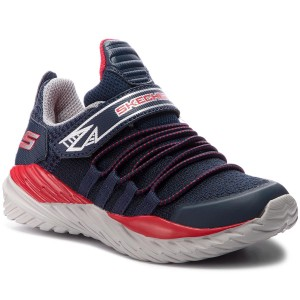 Poltopánky SKECHERS Vector Shift 97766L NVRD Navy Red 2d40ec445c9