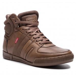 Outdoorová obuv LEVI S 228765-794-29 Dark Brown 98464e239f