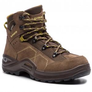 Trekingová obuv LOWA Kody III Gtx Mid Junior GORE-TEX 350099 Brown Mustard  4584 6256426c09