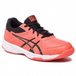 Topánky ASICS - Court Slide Clay Gs 1044A006 Cherry Tomato Black 3d1f978f65c