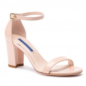 041e0b43e Sandále STUART WEITZMAN - Clay Patent ZL37408 Nearlynude
