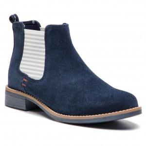 Kotníková obuv s elastickým prvkom S.OLIVER - 5-25335-32 Navy 805 09881617776