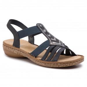 Sandále RIEKER 62821-14 Blau c2a0898db0f