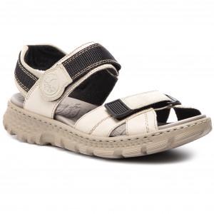 Sandále RIEKER 67853-60 Beige f8b561ca3d3