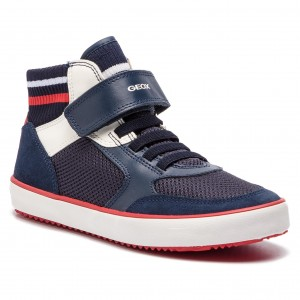 Sneakersy GEOX J Alonisso B. D J922CD 01422 C4211 D Navy White 36fdc57a1eb