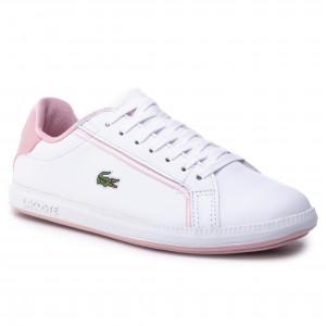 b1bdaf2e0 Sneakersy LACOSTE - Graduate 119 1 Sfa 7-37SFA00311Y9 Wht/Lt Pnk