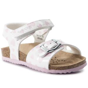 e779bd1b56d2 Sandále GEOX B Sand.Chalki G. A B922RA 000HH C0406 M White Pink