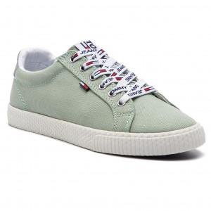 2065e35199 Tenisky TOMMY JEANS - Casual Sneaker EN0EN00125 Frosty Green 312