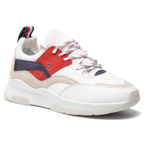 c7613c2d73368 Sneakersy TOMMY HILFIGER - Fashion Mix Sneaker FM0FM02027 Rwb 020 ...