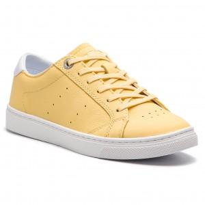 e602aa2833 Sneakersy TOMMY HILFIGER - Pop Color City Sneaker FW0FW04061 Golden Haze 731