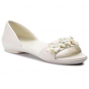 fd4bb4e7d1eff Sandále CROCS - Lina Flower Dorsay W 205567 Oyster/Oyster