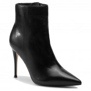 c3b9fb8978 Členková obuv GUESS Olanes FL7OLA LEA10 BLACK