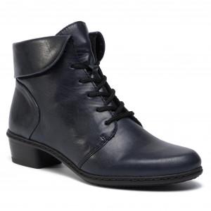 cc862cc2f Členková obuv RIEKER Y0711-14 Blau