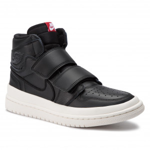 235236a90 Topánky NIKE Air Jordan 1 Re Hi Double Strp AQ7924 001 Black/Gym Red/Sail