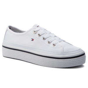 eb812979ed61f Tenisky TOMMY HILFIGER - Pastel Flatform Sneaker Sneaker FW0FW02994 ...