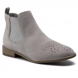 9df1647f4be0 Kotníková obuv s elastickým prvkom TAMARIS - 1-25320-22 Stone 205
