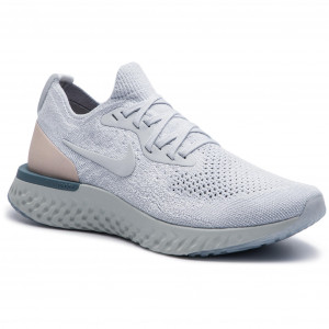4d942f01f807 Topánky NIKE - Epic React Flyknit AQ0070 014 Pure Platinum Pure Platinum
