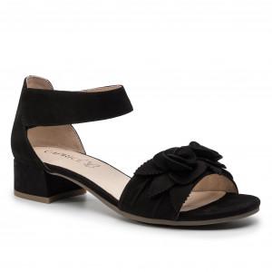 c4583f92e13a Sandále CAPRICE 9-28205-22 Black Nubuc 008