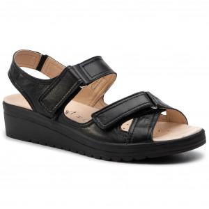 e53bf6d62292 Sandále CAPRICE 9-28210-22 Black Nappa 022